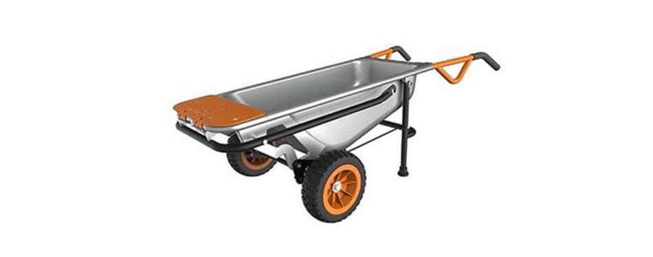 worx wg050 aerocart 8-in-1 2-wheel wheelbarrow