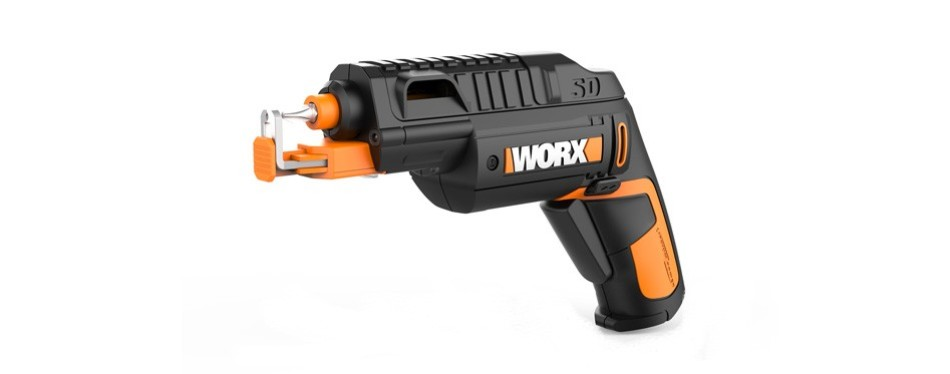 worx wx255l semi-automatic power screw driver
