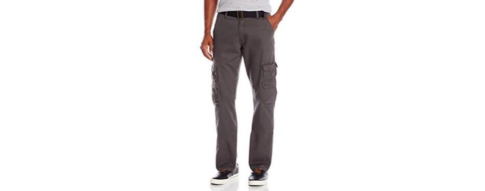 wrangler authentics men's premium cargo pant