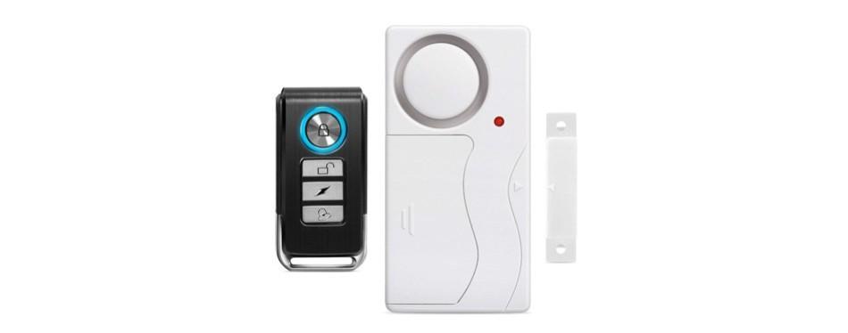 wsdcam wireless remote-control door alarm