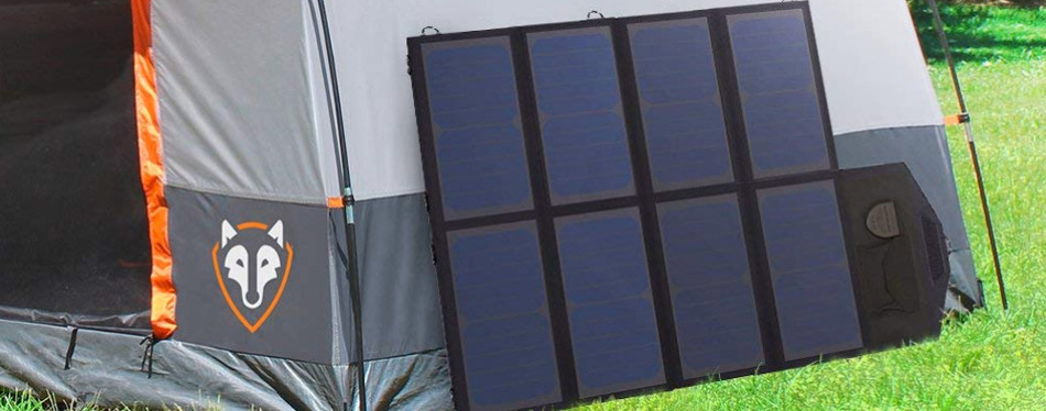 How do solar panel phone chargers work