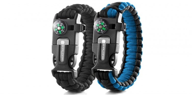 X-Plore Gear Emergency Paracord Bracelets