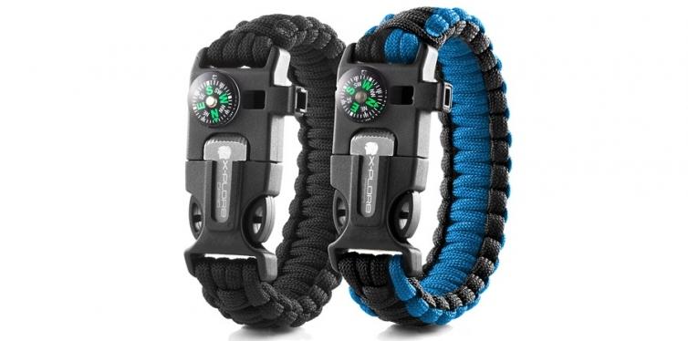 X-Plore Gear Emergency Paracord Bracelets