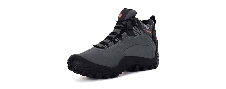 xpeti men's thermator mid waterproof hiking hunting trail outdoor boot