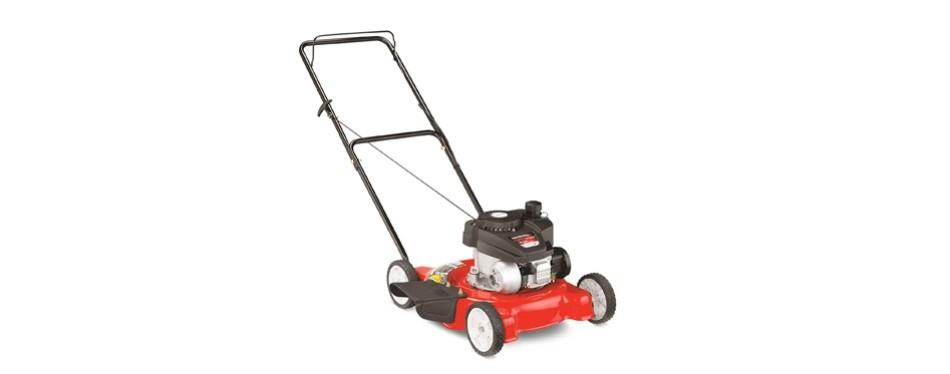 yard machine's 140cc 20-inch push mower
