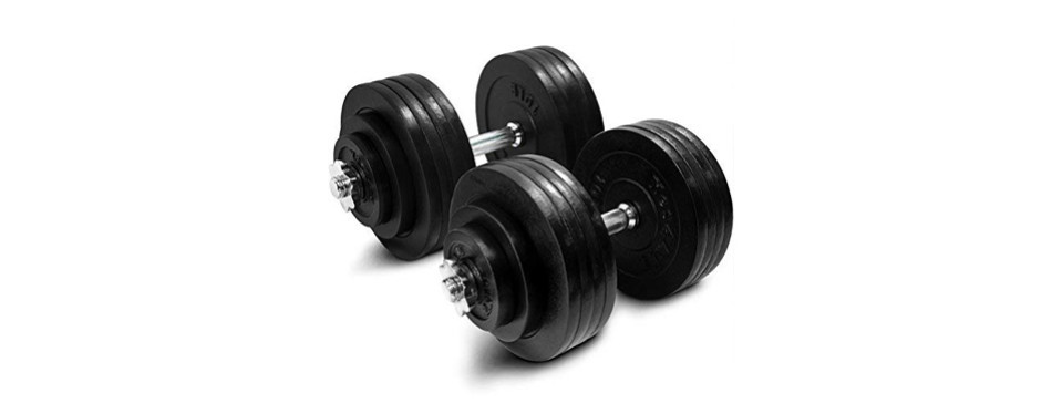 yes4all adjustable dumbbells with connector