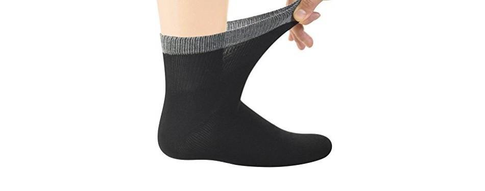 yomandamor diabetic ankle bamboo socks