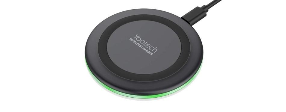 yootech qi wireless charger 7.5w