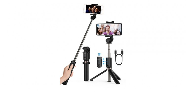Yoozon Extendable Bluetooth Selfie Stick