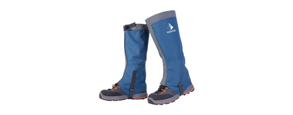 yuedge waterproof snow boot gaiters