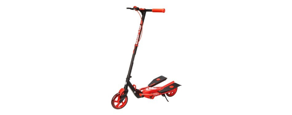 yvolution y flyer kids pedaling stepper scooter