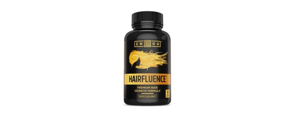 zhou nutrition hairfluence hair growth formula