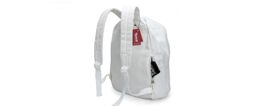 zicac canvas daypack satchel