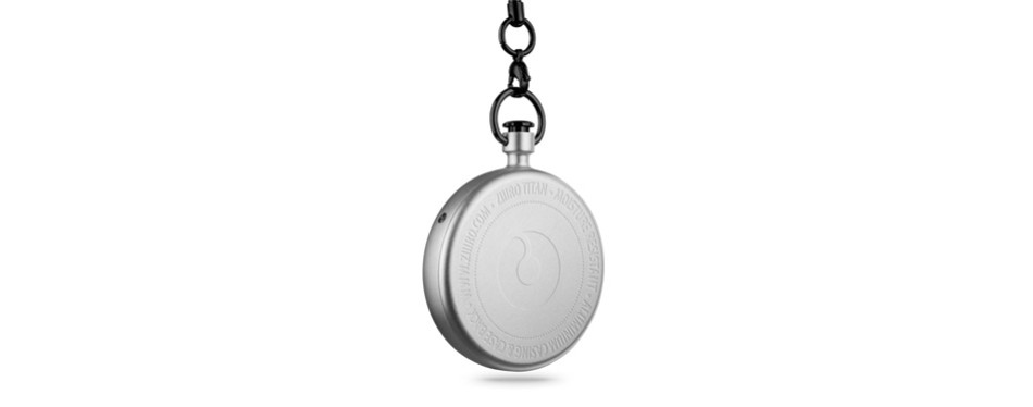 ziiiro titan pocket watch