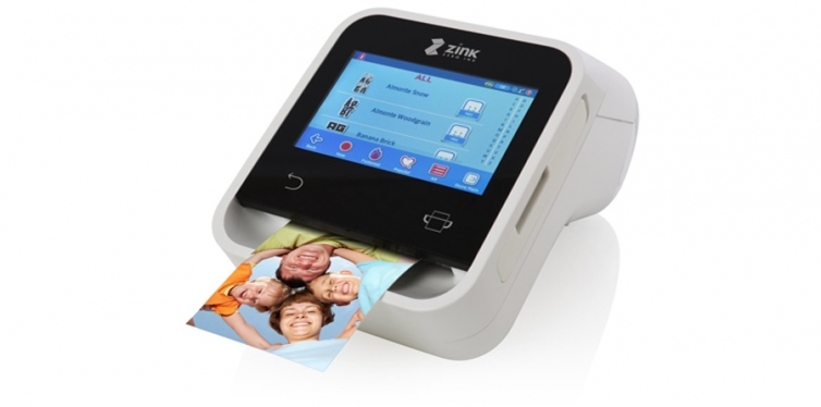 ZINK Wireless Touchscreen Printer