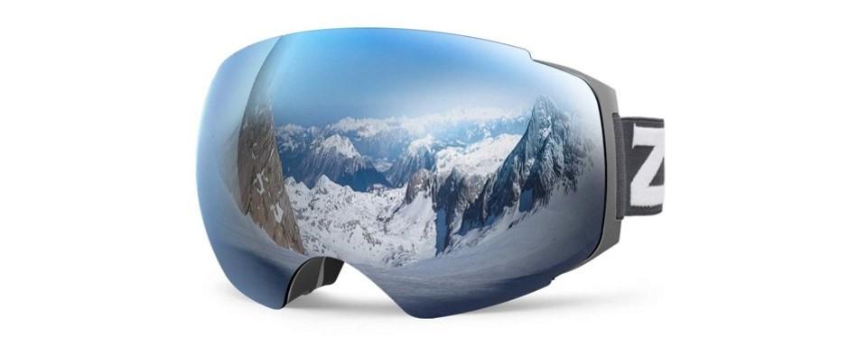 zionor lagopus x4 ski goggles