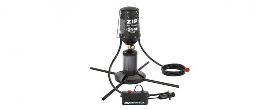 zodi outback gear zip instant hot shower
