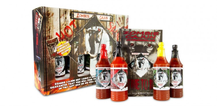 zombie cajun hot sauce
