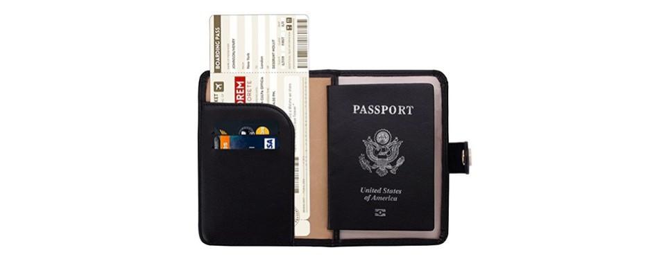 zoppen rfid blocking passport cover