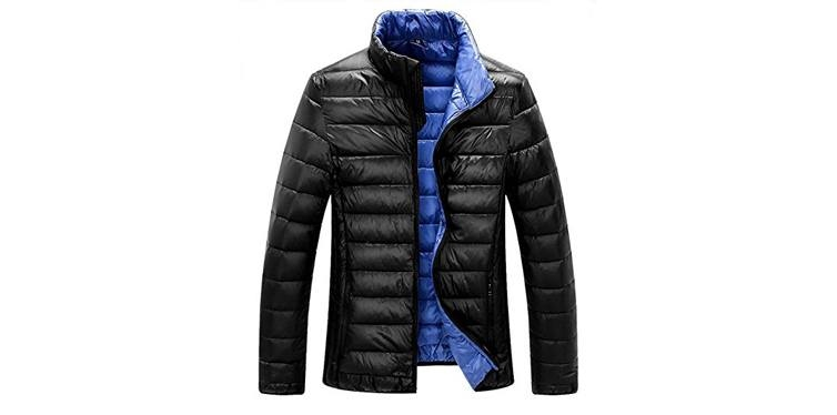 ZSHOW Men's Lightweight Packable Down Jacket