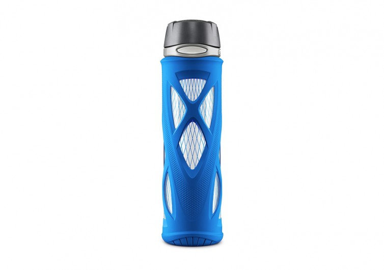 ZULU Atlas Glass Water Bottle
