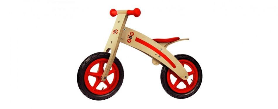 zum cx wooden kids balance bike